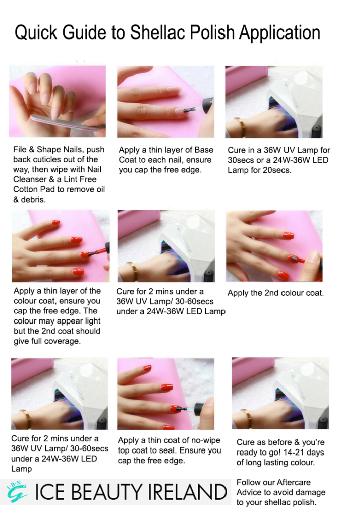 Application & Removal Guide | Ice Beauty Ireland