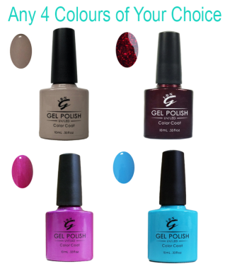 Select Any 4 X Shellac Gel Polishes For Only 30 Coupon Code