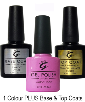 Base & Top Coat&1Colour edit