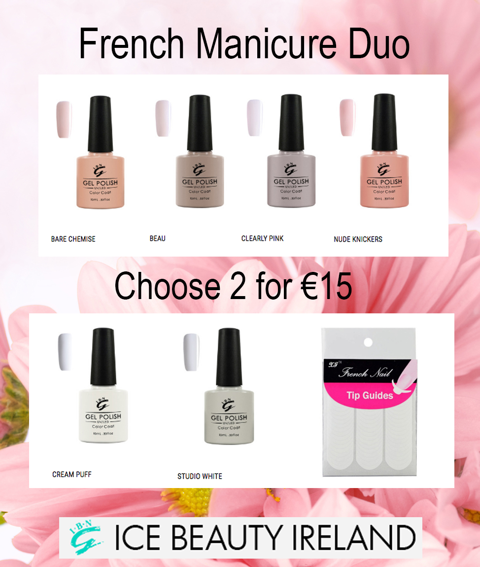 French Manicure Set | Ice Beauty Ireland