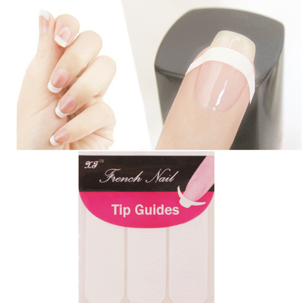 How to do a french manicure on short nails with tape hireability how to do a french manicure on short nails with tape solutioingenieria Gallery
