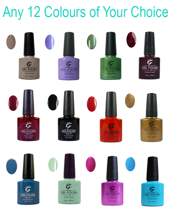 12pc colour coats