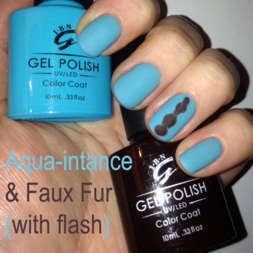 Aqua&Faux Flash