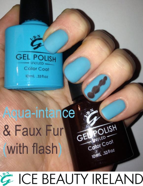 Aqua&Faux Flash